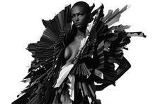 Sculptural Fashion / While these pieces were not designed to be worn, we would love to see them on the streets.