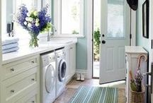 Laundry Room Organization / Connecticut's dry cleaners, White Way Dry Cleaners loves these laundry room organization ideas! www.whitewaycleaners.com/
