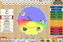 Časová struktura, kalendáře (SVP) /Time management, structure (sen) / plánování činností, vizuální kalendáře, čas speciální vzdělávací potřeby, autismus