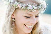 #Haarschmuck, #Kopfschmuck, #Brautschmuck / #Kopfkränzchen, #Blumen für die Haare, #Brautkränzchen, #Haarkränzchen