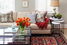 Area Rug Style Inspiration / Area rug inspiration for your Connecticut home design! Connecticut's best dry cleaners, White Way Dry Cleaners offers professional cleaning services for your favorite area rug!