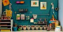 atelier / créer un atelier à la maison pour faire de la couture et des bijoux origami