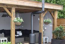 Afdak douglas / Inspiratie voor een mooi afdak in de tuin