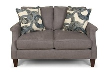 England Furniture Loveseats / The loveseats by England Furniture are perfect for relaxing after a long day. Enjoy the variety of colors and styles for a piece that will fit any home.