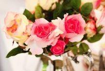 my garden tea party  / theme roses