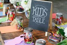Childrens Wedding Tables