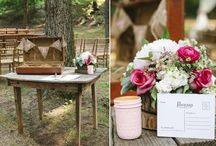 Sign In Table / A special table for a special event ... Set the scene and tone of your event
