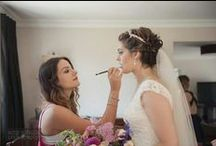 Make Up Artistry NZ / New Zealand is lucky to have professional and talented makeup artists.  Looking beautiful on your wedding day!