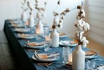 Linen and tablecloths / Cause the table's decoration is fun.