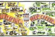 Graphic Recording / Some examples of my graphic recordings