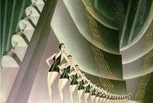 Art Déco/Bauhaus Posters