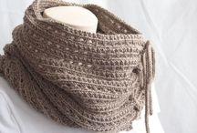 cuellos y chales tejidos / cuellos y chales ponchos tejidos a crochet o palillos