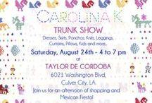 Trunk Show L.A. - August 24th / Carolina K Trunk Show at Taylor De Cordoba