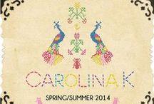 Spring / Summer 2014 / CAROLINA K - SPRING SUMMER '14
