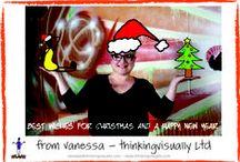 thinkingvisually Christmas Cards