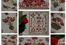 Tulip SAL / traditional Hungarian tulip motifs