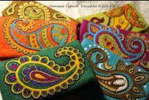 """Paisley  in art / тема орнамента формы """"огурец"""" в искусстве"""