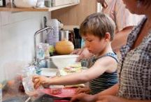 Chores around the World / Children everywhere help out around the house. What kinds of chores do they do?