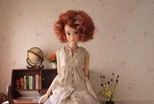 pretty   momoko doll / by ichigo