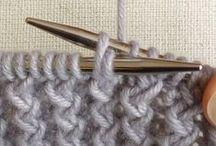 knitting - technique