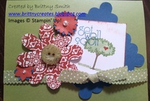 Get Well / These are get well items that I have created using Stampin' Up! products that you can order at http://brittnysmith.stampinup.net / by Brittny Smith Stampin' Up! Demonstrator