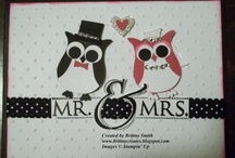 Wedding/Anniversary / These are handmade items that would be great for weddings and/or anniversaries / by Brittny Smith Stampin' Up! Demonstrator