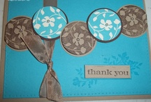 Thank you / These are thank you items that I've created using Stampin' Up! products that you can order at http://brittnysmith.stampinup.net