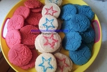 Sweet Pressed Cookie Stamps / These are cookies I've made using Stampin' Up!'s sweet pressed cookie stamp sets.  Order at http://brittnysmith.stampinup.net