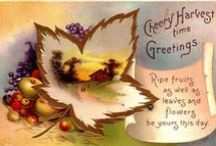 Fall & Thanksgiving / Ideas for Fall and Thanksgiving parties, recipies, crafts & decorating / by Cathy Patzlaff