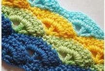 Crochet Stitches / Stitch patterns for inspiration
