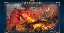 Talisman Digital Edition Board Game / Talisman: Digital Edition - The Magical Quest Game for 1 to 4 players. The officially licensed Games Workshop multi-player version of the fantasy adventure board game.