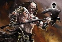 Talisman - Reaper art work. / Images from the Reaper Expansion of the Talisman Digital Edition board game by Nomad Games