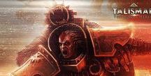 Talisman: The Horus Heresy / Images from Talisman: The Horus Heresy. A Digital Board Game based on the Talisman rule system and set in the Warhammer 40,000 universe in the dark age of the Horus Heresy.