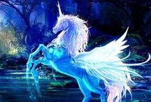 Unicorns / A selection of great Unicorns images from books, games and films.