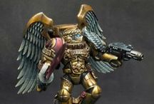 Painted miniatures / A selection of great painted miniatures from Talisman, Warhammer 40k and other Games Workshop products.