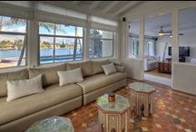 RENTED ~ Venetian Islands Waterfront Home 221 E Dilido Drive / FURNISHED WATERFRONT JEWEL! Hip South Beach home with 4 bedrooms plus open Den to brand new large Pool & Spa, Deck, Garden & Boat Dock. Refurbished Original Portuguese Tile floors give home Moroccan-style living.