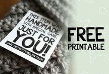 ♡ papier en free printables