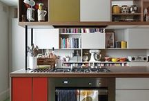 Amazing Kitchens / Less kitschy kitchens but still good looking with mid century vibes.
