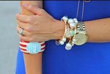 Bracelets / We have monogrammed bracelets, monogrammed cuffs, bangles, wraps, and even Lily and Laura bracelets!