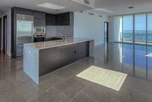 SOLD ~ 900 Biscayne Bay #4901 / Amazing Biscayne Bay & city of Miami views. Wraparound South East Corner Unit for Sunrise & Sunset views from 3 terraces. 2 beds convertible to 3/ 3.5 baths.  Gorgeous Grey Limestone flooring throughout the unit. Kitchen w/dark Wenge & White Carrara marble counter  tops, Italian cabinetry, Miele and SubZero Ref. 10' ceilings. Amenities includes 2 pools overlooking the bay, spa, fitness center, private movie theater, 24 hr security, concierge and doorman | Listed For: $1,050,000 or $4,900/month