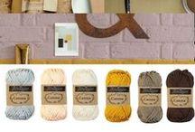 Garenwinkel Henja / kleur inspiratie voor haken en breien color inspiration for crochet and knitting haak pakket crochet kit