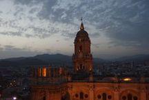 Malaga Cathedral Rooftops / Climbing up to Malaga Cathedral rooftops is one of the newest attractions in Malaga. http://www.guidetomalaga.com/malaga-cathedral-at-night/
