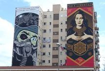Street Art in Malaga / Malaga is gradually gaining a name for itself as a street art destination. Here's our pick of  the murals in the Soho district, home to some of best street art in Malaga http://www.guidetomalaga.com/
