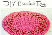 ♡ vloerkleed haken / crochet rug