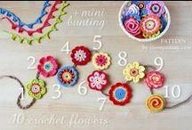 ♡ bloemen haken / crochet flowers