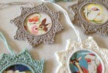 ♡ fotolijstje haken / crochet picture frame
