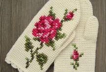 ♡ wanten haken / crochet mittens