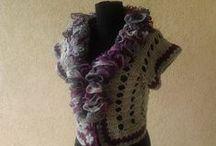 BOLEROS / Hand crocheted unique items