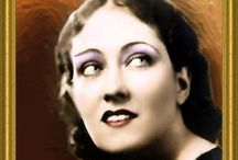 """""""GLORIA SWANSON"""" / BORN: 27 March 1899 DIED:  4 April 1983- 84 years"""