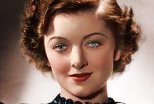 """MYRNA LOY"" / Born: 2 Aug.1905 Died: 14 Dec. 1993-88yrs  [Silent Films...Dancer-Vamp]"